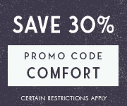 Save with promo code COMFORT